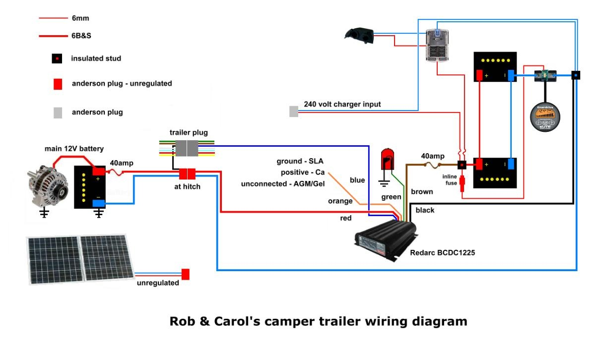 4 Pin Ignition Switch Wiring Diagram Will Be A Thing Trailer Wire What Does 12volt Compressor Fridge Really Draw Rocker 125v Lighted