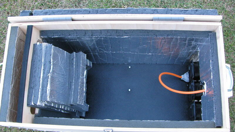 how to build a soundproof box for air compressor