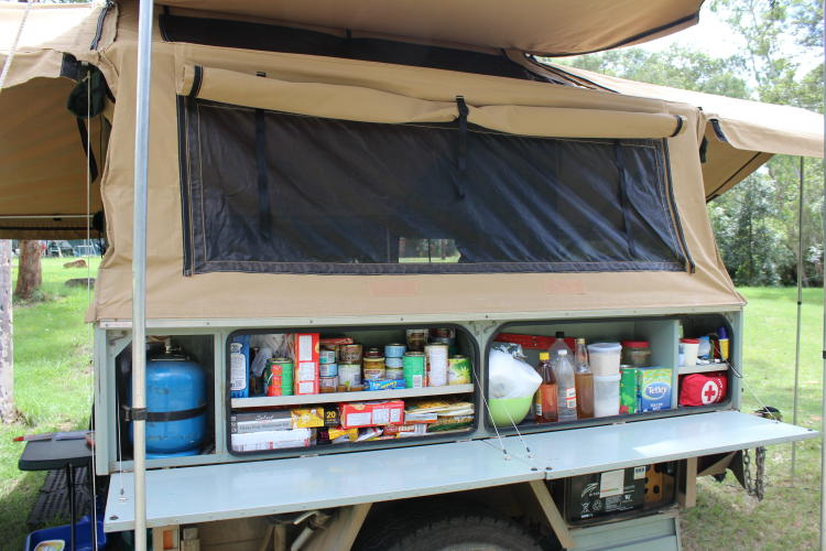 Ute Canopy Setup