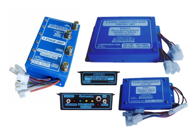 Rotronics Parallel Battery Systems
